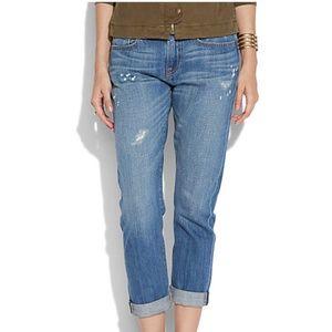 Lucky Brand Distressed Dylan Boyfriend Jeans